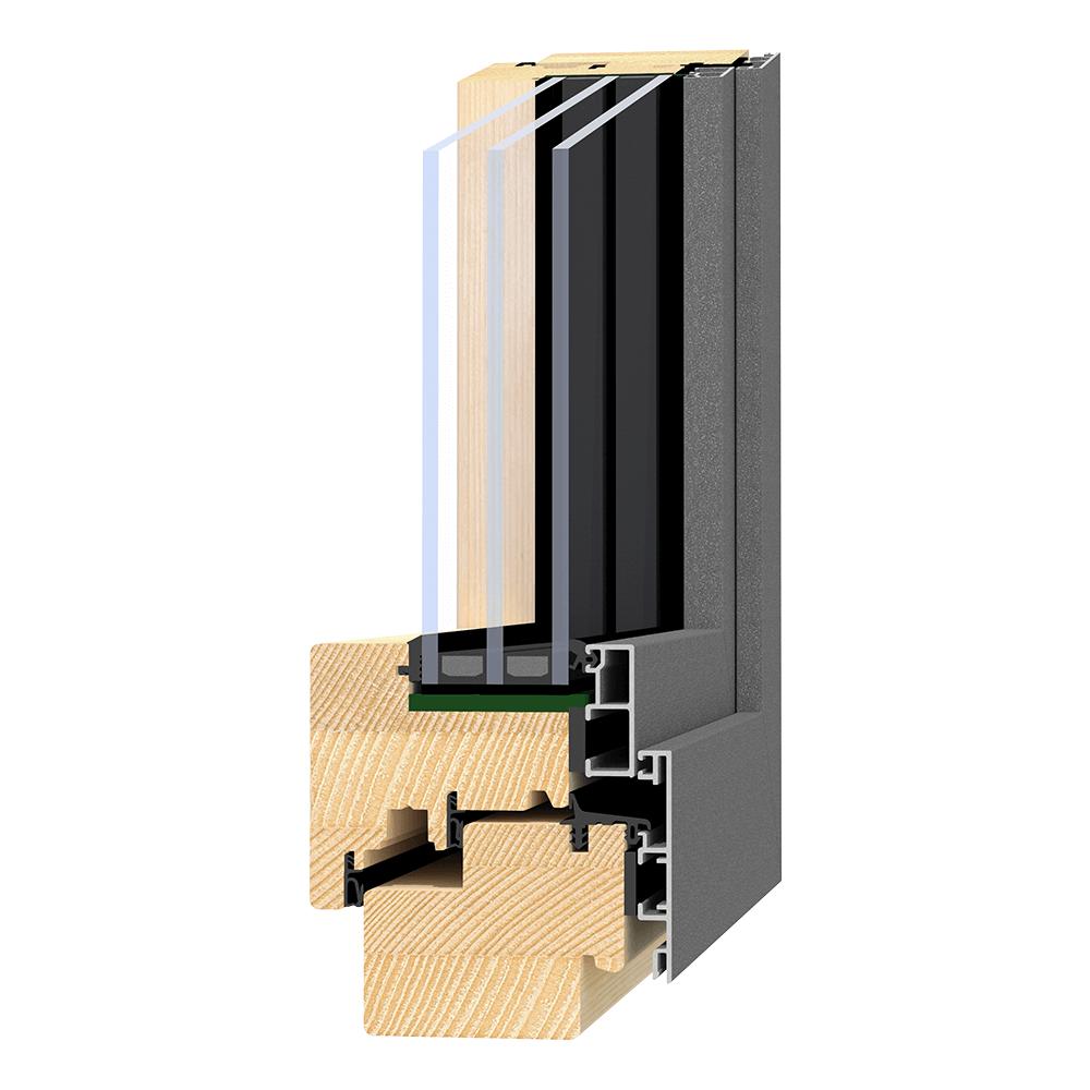 Holz-Alu-Fenster